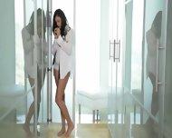 Brunette 19yo Girl Banged In Sensitive - scene 2
