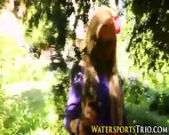 Piss Drenched Outdoor Ho - scene 1