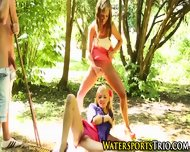 Piss Drenched Outdoor Ho - scene 9