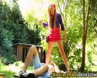 Piss Drenched Outdoor Ho - scene 2