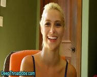 Throated Blonde Swallows - scene 3