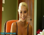 Throated Blonde Swallows - scene 4
