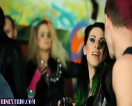 Bisexual Alternative Orgy - scene 1