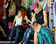 Bisexual Alternative Orgy - scene 8