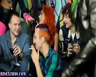 Bisexual Alternative Orgy - scene 4