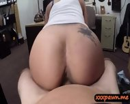 Big Juggs Latina Slut Pawned Pussy N Nailed In The Pawnshop - scene 9