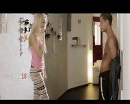 Sexy Fairhair Fucking Really Hard With Boyfriend - scene 1