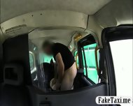 Amateur Slut Fucked In The Cab Not Knowing Shes Being Filmed - scene 12