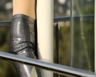 Top Skinny Girl On The Balcony - scene 5