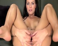 Babe Dildoing Ultra Neat Pussy Hole - scene 7
