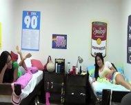 Hot Blonde Schoolgirl Fucking With Friend - scene 6