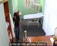 Beautiful Patient Sucks Doctors Cock In Fake Hospital - scene 1