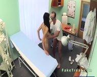 Beautiful Patient Sucks Doctors Cock In Fake Hospital - scene 9