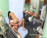 Beautiful Patient Sucks Doctors Cock In Fake Hospital - scene 12