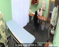 Beautiful Patient Sucks Doctors Cock In Fake Hospital - scene 3