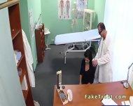 Beautiful Patient Sucks Doctors Cock In Fake Hospital - scene 4
