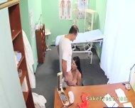Beautiful Patient Sucks Doctors Cock In Fake Hospital - scene 5