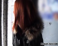 Redhead Czech Girl Screwed Up And Facialed For Money - scene 2