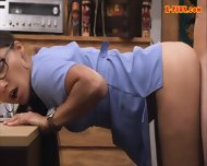 Hot Nurse Sells Her Old Teapot And Fucked By Pawnkeeper - scene 9