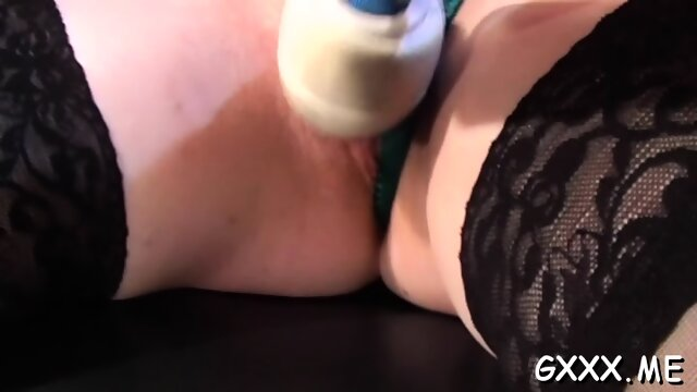 Babe s wet pussy gets dildoded