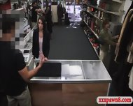 Customers Wife Fucked In The Backroom Of The Pawnshop - scene 1