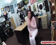 Customers Wife Fucked In The Backroom Of The Pawnshop - scene 3