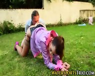Soaked Outdoor Fuck Slut - scene 8