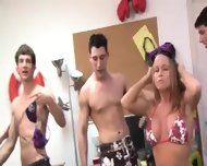 Young Students Penetrate On College Party - scene 2