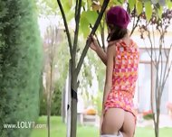 My Sleek Girlfriend In The Garden - scene 4