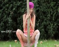 My Sleek Girlfriend In The Garden - scene 7