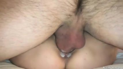 Busty Wife Takes Long Cock In Her Cunt Ends With Creampie - scene 10