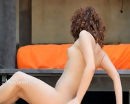 Caprices Wet Yoga With Pink Toy - scene 7