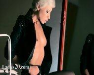 Mysterious Babe Masturbates With Vibrator - scene 7
