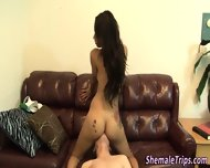 Shemale Spurts Her Jizz - scene 7