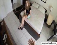 Hot Escort Girl Gets Banged And Filmed Using Spy Cam Glasses - scene 2