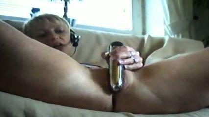 Blond german Girls plays on webcam - scene 3