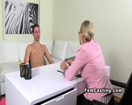 Czech Amateur Dude Eats Cunt To Female Agent - scene 6