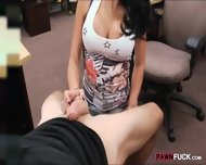 Big Titty Latina Banged With Pawnkeeper At The Pawnshop - scene 4