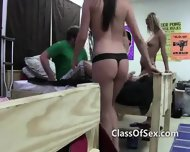 College Teen Babe Blowjobs Amateur Sex Tape - scene 5