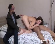 Dude Looks At Gf Screwed - scene 2