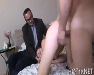 Dude Looks At Gf Screwed - scene 6