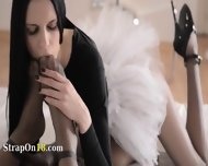 Elegant Babes With Strapon In Luxury - scene 4