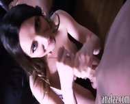 Big Tits Amateur Slut Takes A Fat Cock In Her Juicy Ass - scene 5
