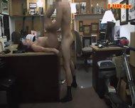 Drunk Customer Got Her Wife Fucked Hard By Pawnkeeper - scene 9