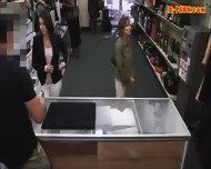 Drunk Customer Got Her Wife Fucked Hard By Pawnkeeper - scene 3
