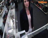 Drunk Customer Got Her Wife Fucked Hard By Pawnkeeper - scene 4