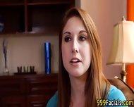 Wam Pov Redhead Facial - scene 2