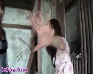 Japanese Lesbo Pisses - scene 8