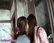 Japanese Lesbo Pisses - scene 9