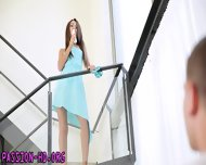 Hot Brunette Makes Love - scene 1